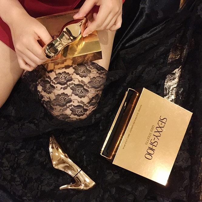Nước hoa nữ Sexxy Shoo Gold