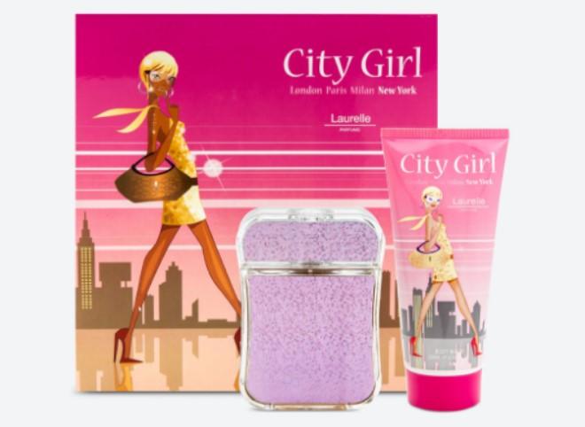 Song tử - City Girl New York Gift Set 100ml